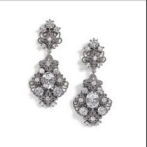 Cabi Mystic Rhinestone Silver Earrings #2166
